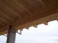 Panel sandwich friso madera cubiertaCatalunya, Barcelona, Girona, Tarragona, Salou, Badalona, Mataro, Cambrils, Rosas, Castell de fels, Gerona, Cataluña